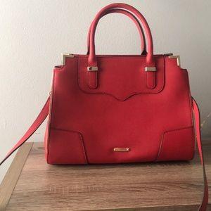Red Rebecca Minkoff Crossbody Handbag